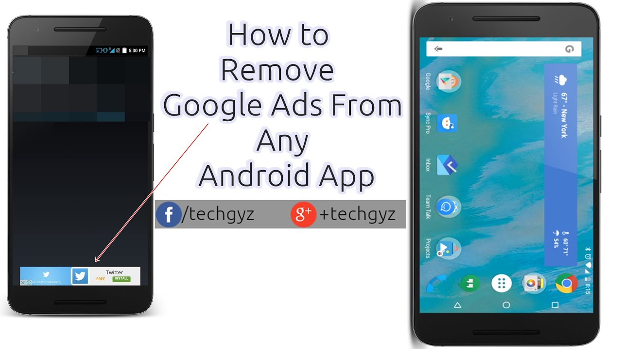 how to remove or patch google ads in any android application