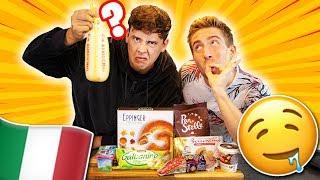 Wir probieren italienische Supermarkt Produkte!🇮🇹
