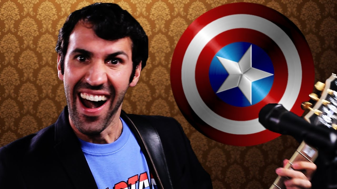 captain america 39 s new theme song parody youtube. Black Bedroom Furniture Sets. Home Design Ideas