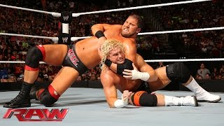 The Usos & Dolph Ziggler vs. RybAxel & The Miz: Raw, July 28, 2014