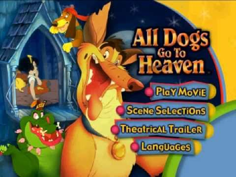 Opening to All Dogs go to Heaven 2001 DVD - YouTube