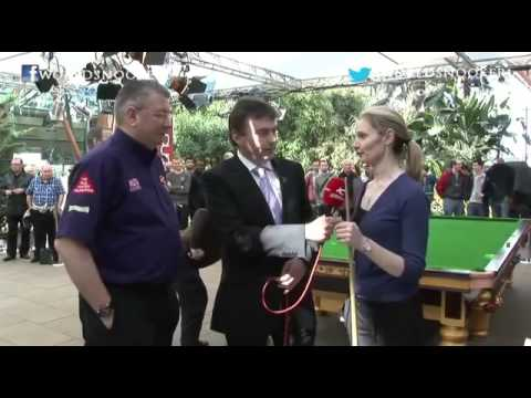 Reanne Evans talks about Ladies Day at the 2013 World Snooker Championship