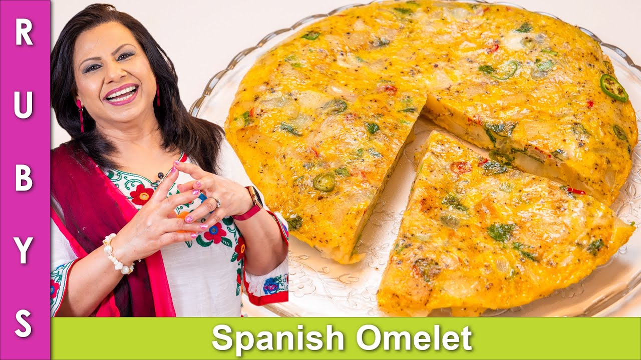 Impressive Breakfast Idea! Spanish Omelet Recipe in Urdu Hindi - RKK