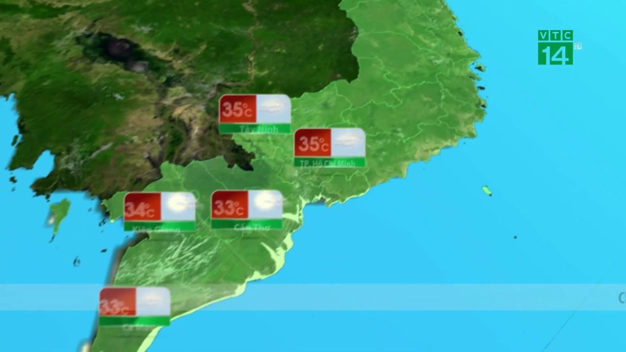 Thời tiết tổng hợp 29/03/2019: Nắng nóng giảm dần ở miền Nam | VTC14