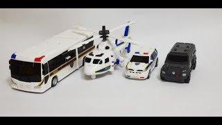 [범아빠] Hello Carbot K-Cops toys transform 헬로 카봇 K캅스 장남감 변신~
