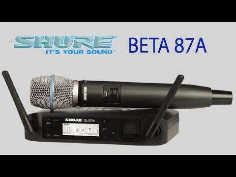SHURE BETA 87A quick unbox and review of quality
