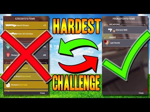 HARDEST Challenge I Could Think Of.. (Apex Legends)