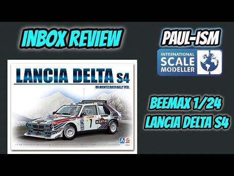 Beemax 1/24 Lancia Delta S4 InBox Review
