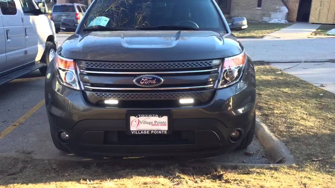 Oracle Wireless Switch Led Driving Lights 2017 Ford Explorer