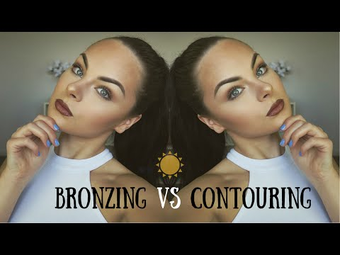 Bronzing vs Contouring Demo ♡ What's the Difference?