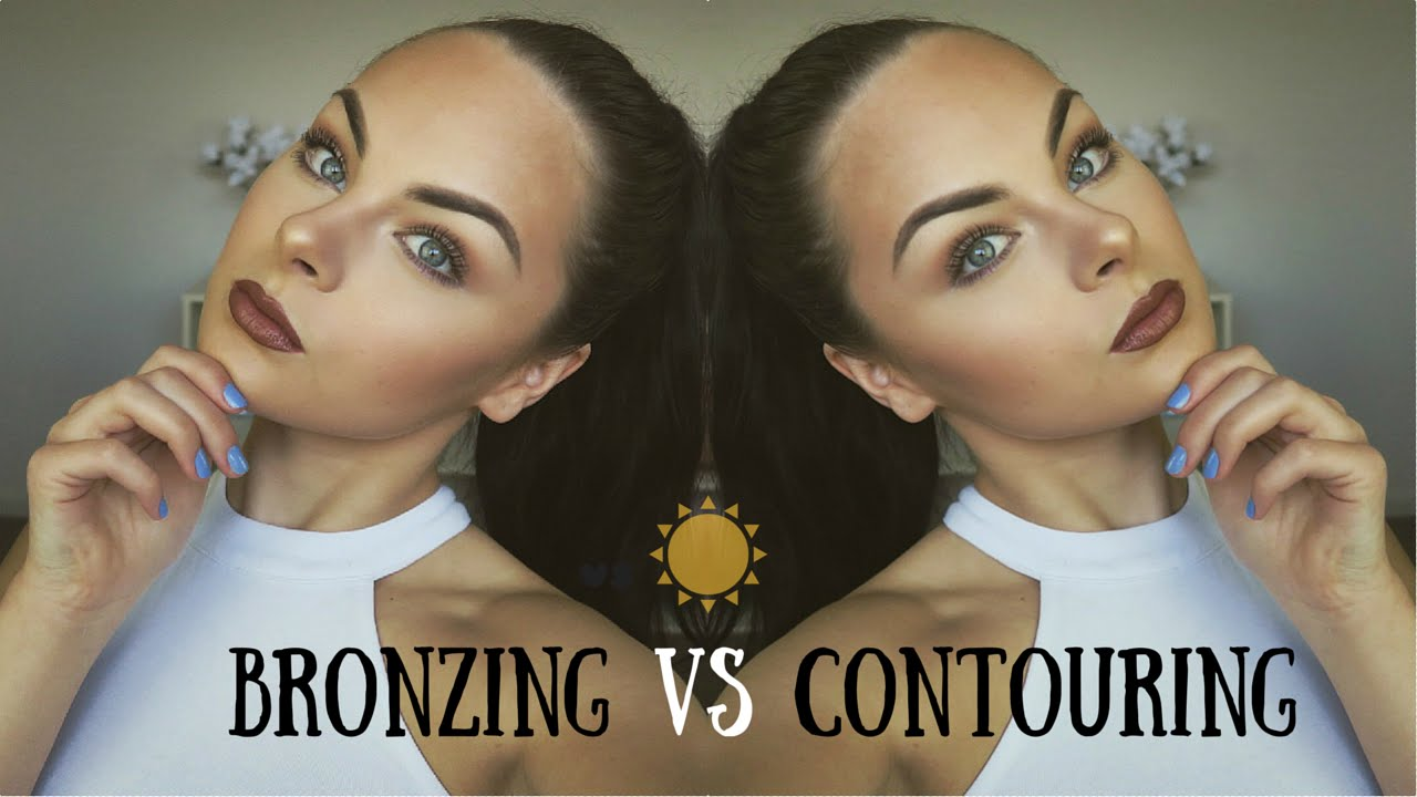 Bronzing vs contouring demo whats the difference youtube ccuart Images