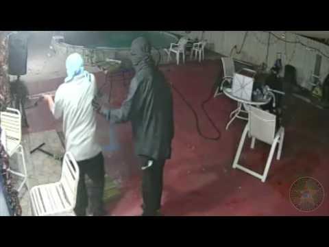 Surveillance Video Captures Armed Robbery: June 15, 2017