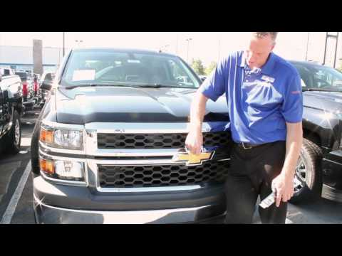Louisville Chevy Dude Black Bow tie FROM THE FACTORY on Silverado Bachman Chevrolet