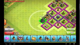 Clash of Clans || TH7 Dark Elixier Farming Base || NO BARBARIAN || [HD] [GERMAN]