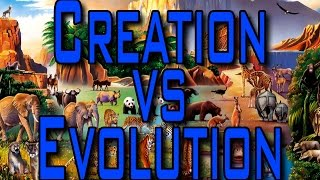 creationism vs evolution debate