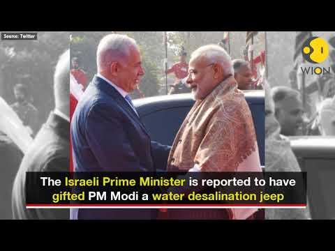 Benjamin Netanyahu's gift to PM Modi: Mass water-purifying jeep