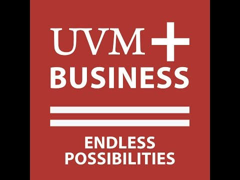UVM School of Business 2014