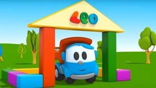 Leo Junior - Bir yıkım vinci yapıp Leo'nun evini yıkıyoruz