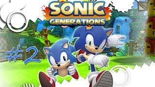 Скачать Прохождение Sonic Generations PC 2 Sky Sanctuary Death Egg Robot