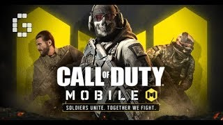 CALL OF DUTY MOBILE CHILL STREAM  ONLY GAMEPLAY BY REDSTEEL