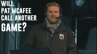 Will Pat McAfee Commentate Again?