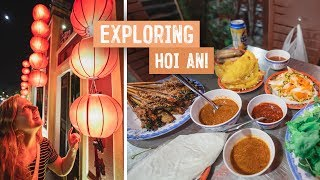 Our First LANTERN FESTIVAL! + Delicious Vietnamese Food FEAST (Hoi An, Vietnam)