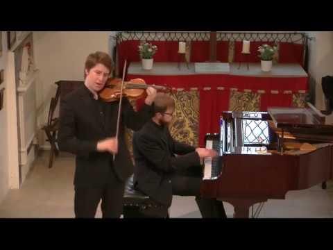 Michael Foyle and Maksim Stsura play Kreisler: Viennese Rhapsodic Fantasietta