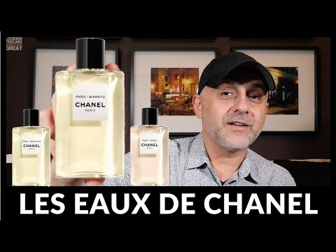 Chanel Les Eaux De Chanel Review: Paris-Deauville, Paris-Biarritz + Paris-Venise Unisex EDT's