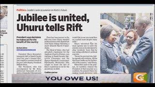 NEWS REVIEW | 2022 Uhuru-Ruto poll deal #DayBreak