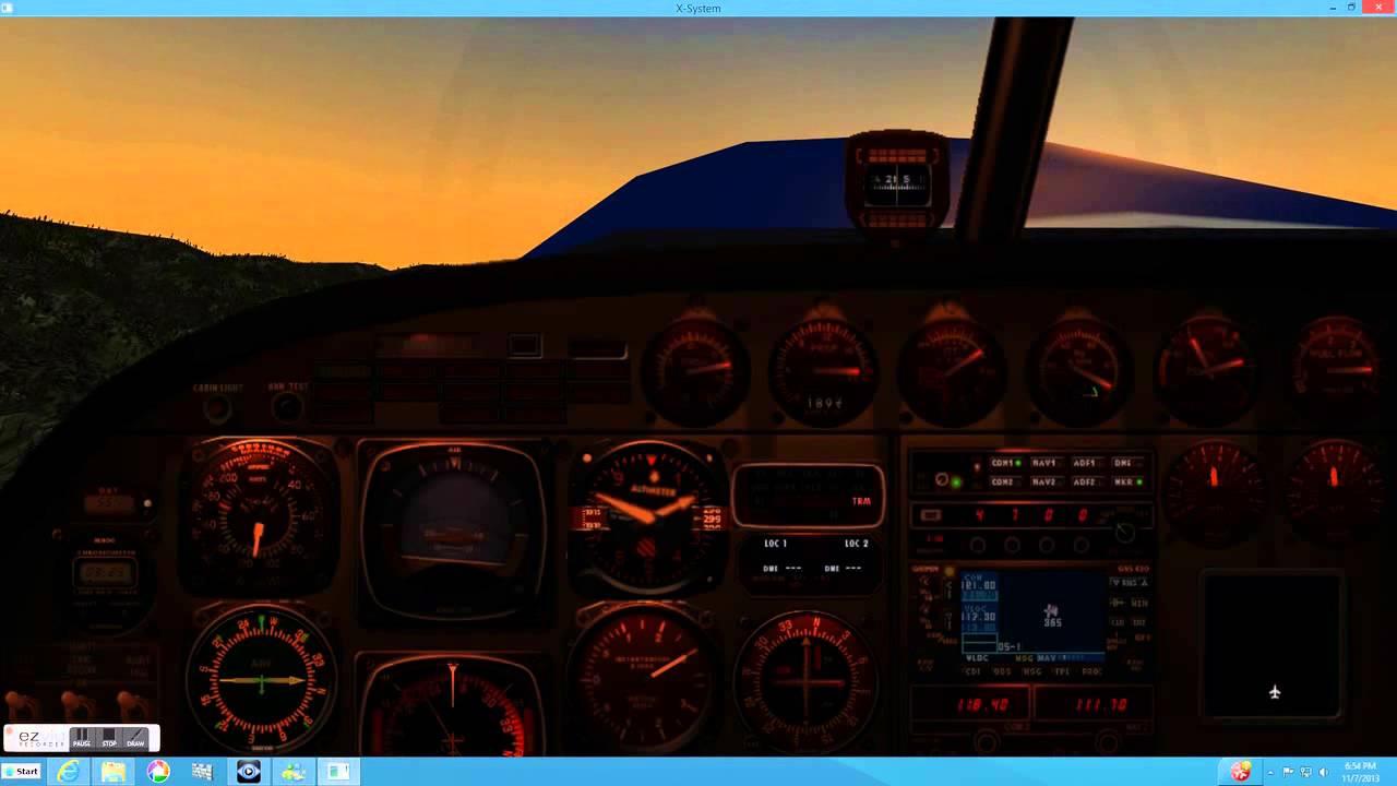 X-Plane Cessna 206