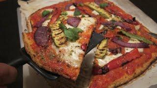 Pizza senza farina! - Pizza dietetica (cavolfiore)