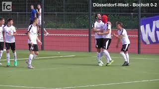 1. Spieltag: SC Düsseldorf-West - 1. FC Bocholt 0:3 (0:1)