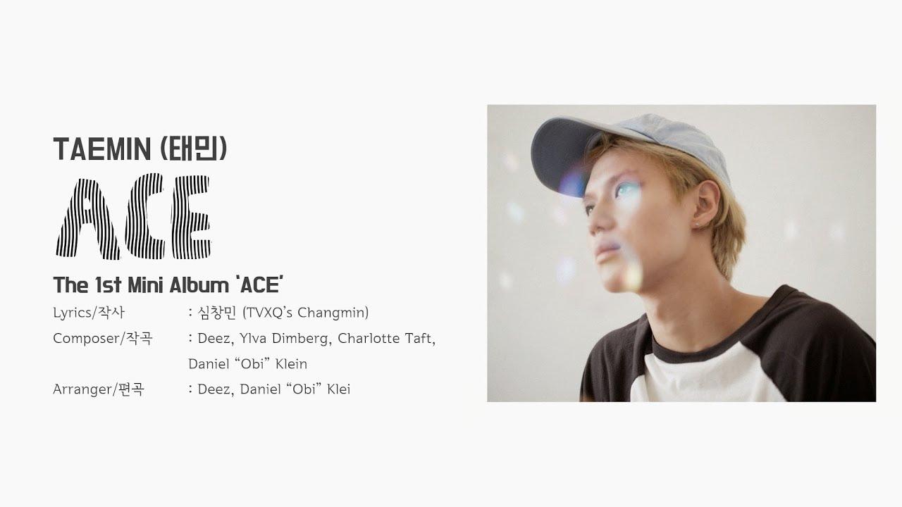 태민 (TAEMIN) - Ace [LYRICS HAN-ROM-ENG]