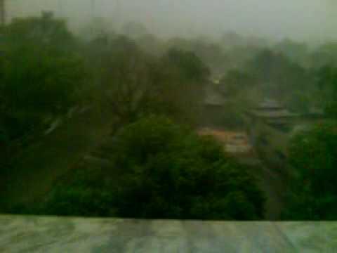 initial rain