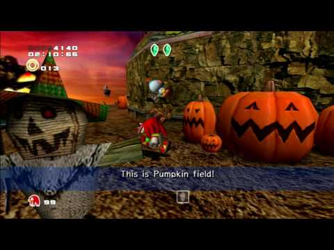 Pumpkin Hill - Sonic Adventure 2 PS3 - Happy Halloween