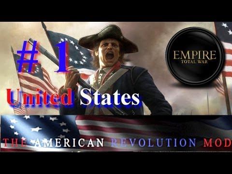 ETW: The American Revolution Mod-United States Part 1~The British Invade!