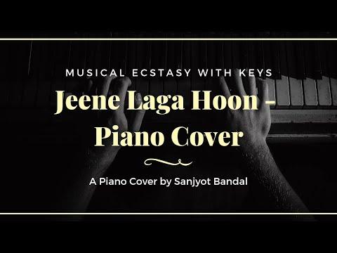 Jeene Laga Hoon (Ramaiya Vastavaiya) - Piano Cover By Sanjyot Bandal