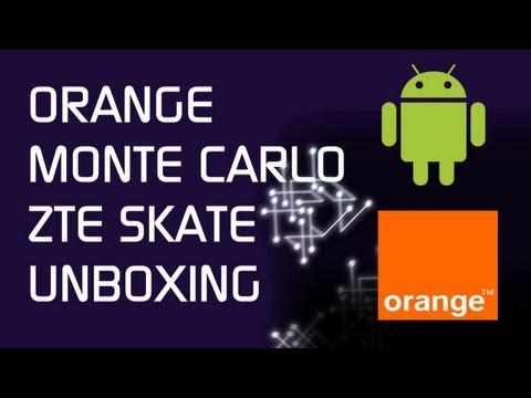 Orange Monte Carlo / ZTE Skate - Unboxing