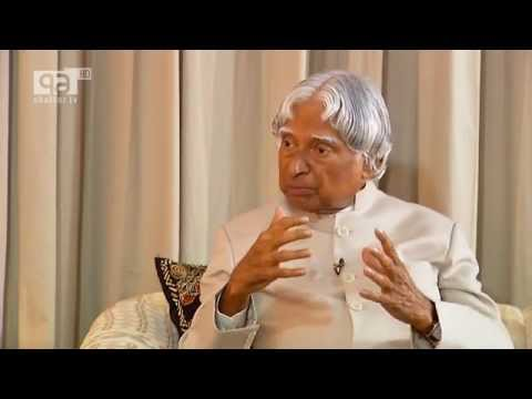Interview of Former President of India, Dr. APJ Abdul Kalam