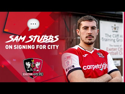 💬 Sam Stubbs on signing for Exeter City | Exeter City Football Club