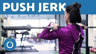 PUSH JERK - CROSSFIT EXERCISE Tutorial for Women