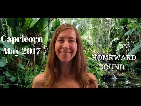 Capricorn May 2017 Horoscope/Astrology Forecast ~ HOMEWARD BOUND