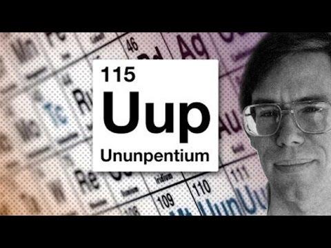 El Elemento 115 que Bob Lazar descubrió en el Área 51, añadido a la Tabla Periódica.