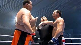 Taro Akebono vs Don Frye, MMA fight HD | EPIC