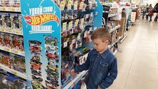 Хот Вилс Обзор новинок Hot Wheels в магазине Детский Мир Треки и машинки