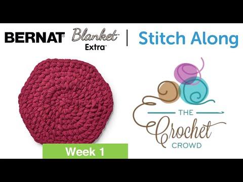 Stitch Along: Crochet A Basket Week 1