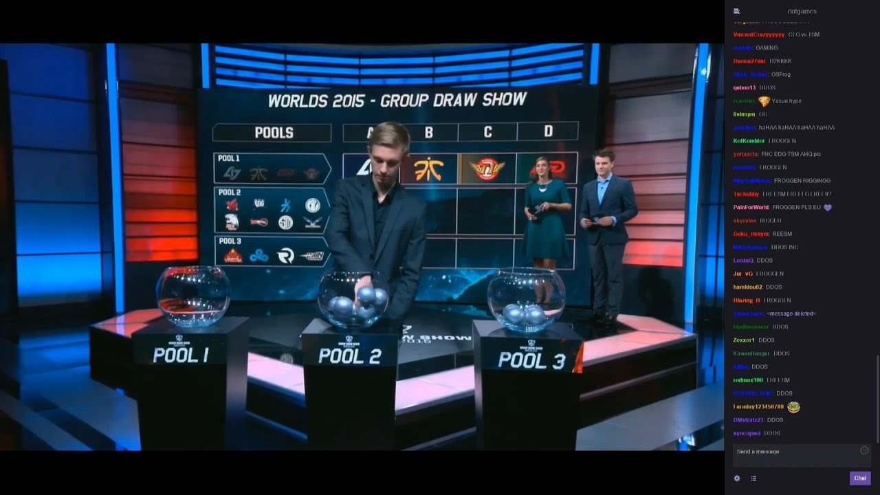 Worlds Group Draw