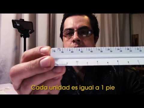 Escalimetro Pulgadas 1-4