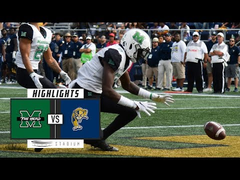 Marshall vs. FIU Football Highlights (2018) | Stadium