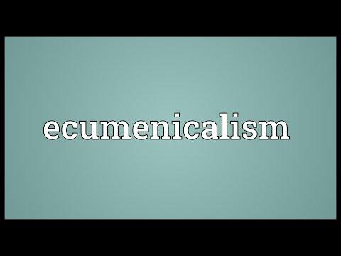 Header of ecumenicalism